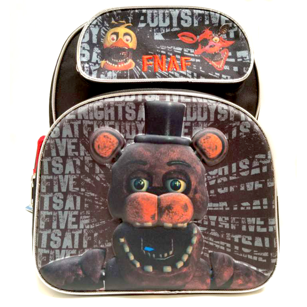 Five Nights at Freddy's 3D Toddler 12 Inch Backpack