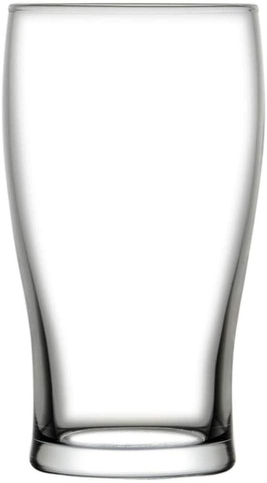 16 Oz Tulip Beer Pint Glass 3 X 3 X 5 3 4 6 Count Box Walmart Com Walmart Com