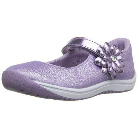 Stride Rite Toddler Haylie Mary Jane Shoe, Purple (Stride Rite Black Mary Jane)