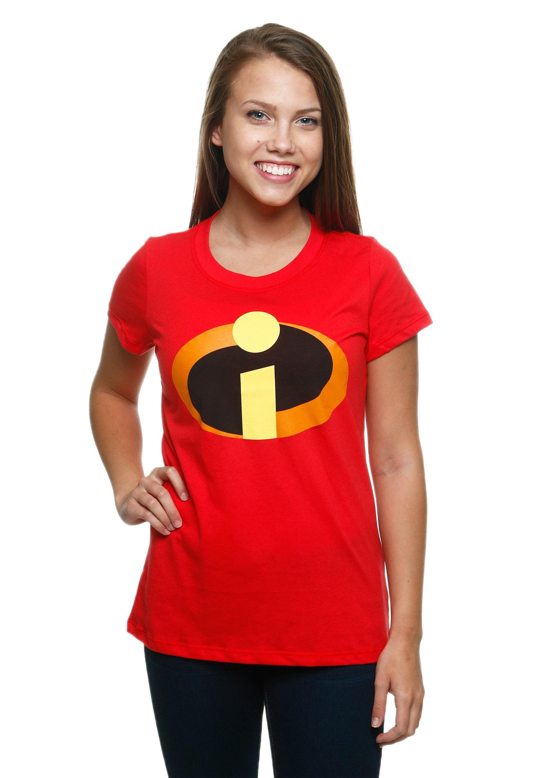 Disney Pixar Incredibles 2 Juniors Movie Logo T-Shirt