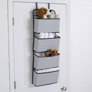 Delta Children 4-Pocket Hanging Wall Organizer, Navy