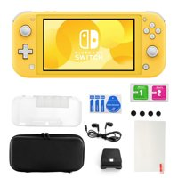 Nintendo Switch Lite in Yellow with Accessories 11 in 1 Accessories Kit