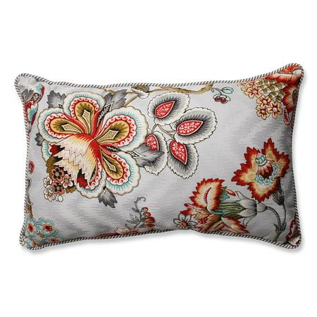 Pillow Perfect Bespoke Blossoms Rectangular Throw Pillow