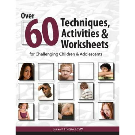 Over 60 Techniques, Activities & Worksheets for Challenging Children & Adolescents - - Halloween For Kids Worksheets