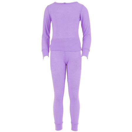 72129422b70a SLM Therma Tek - SLM Therma Tek Girl's 100% Cotton Thermal Underwear ...