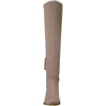 Franco Sarto Womens Bailey Fabric Almond Toe Knee High - image 1 of 2