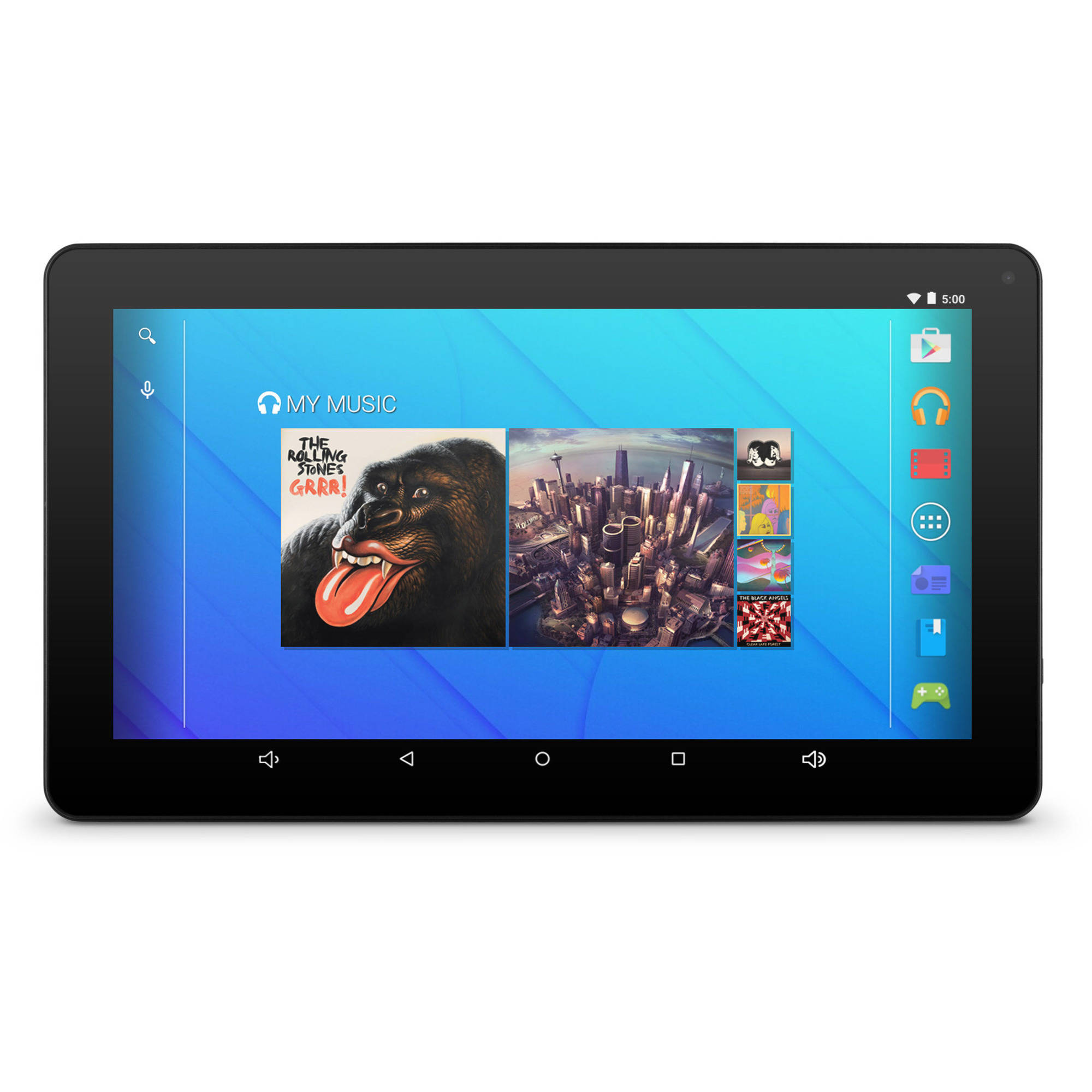 "Ematic EGQ223BL with WiFi 10"" Touchscreen Tablet PC Featuring Android 5.1 (Lollipop) Operating System"