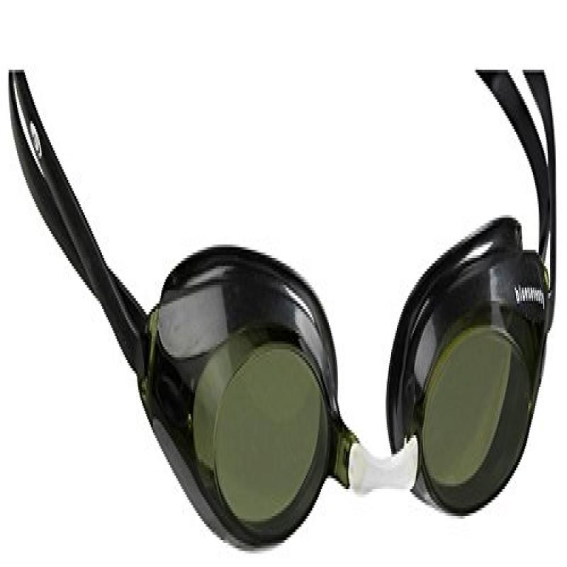 Blueseventy Nero Race Goggles Black/Gold Mirror lens.