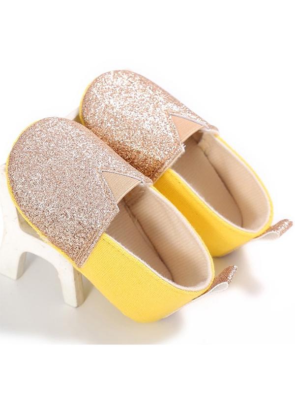 Babula Baby Girl Soft Sole Crib Cotton Shoes 0-18M