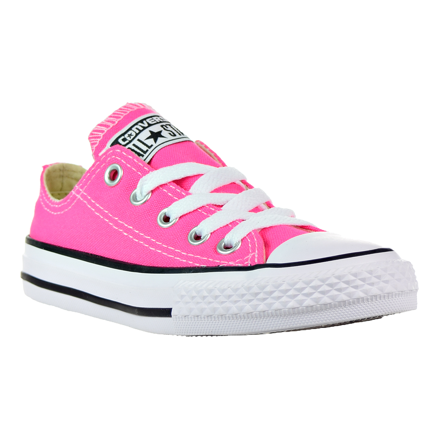 Converse Chuck Taylor All Star Ox Little 357646f Kid's Shoes Pink Pow/White 357646f Little 72334b