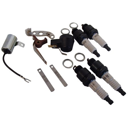 Ignition Tune Up Kit (inc. points, condensor, rotor, plugs)  Ford/New Holland 309786 2N 8N 9N