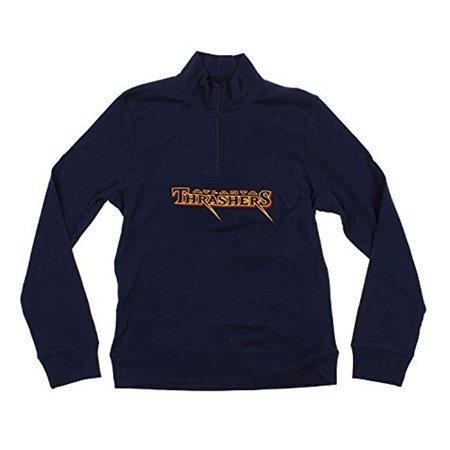Reebok NHL Women's Atlanta Thrashers Active 1/4 Zip Interlock Top (Thrasher Halloween Hellride 4)