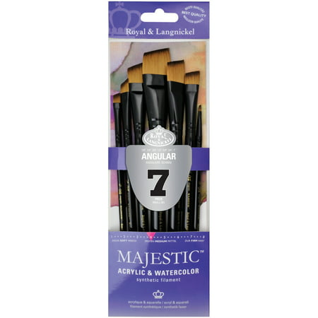 Majestic Materials - Majestic Angular Brush Set-7/Pkg