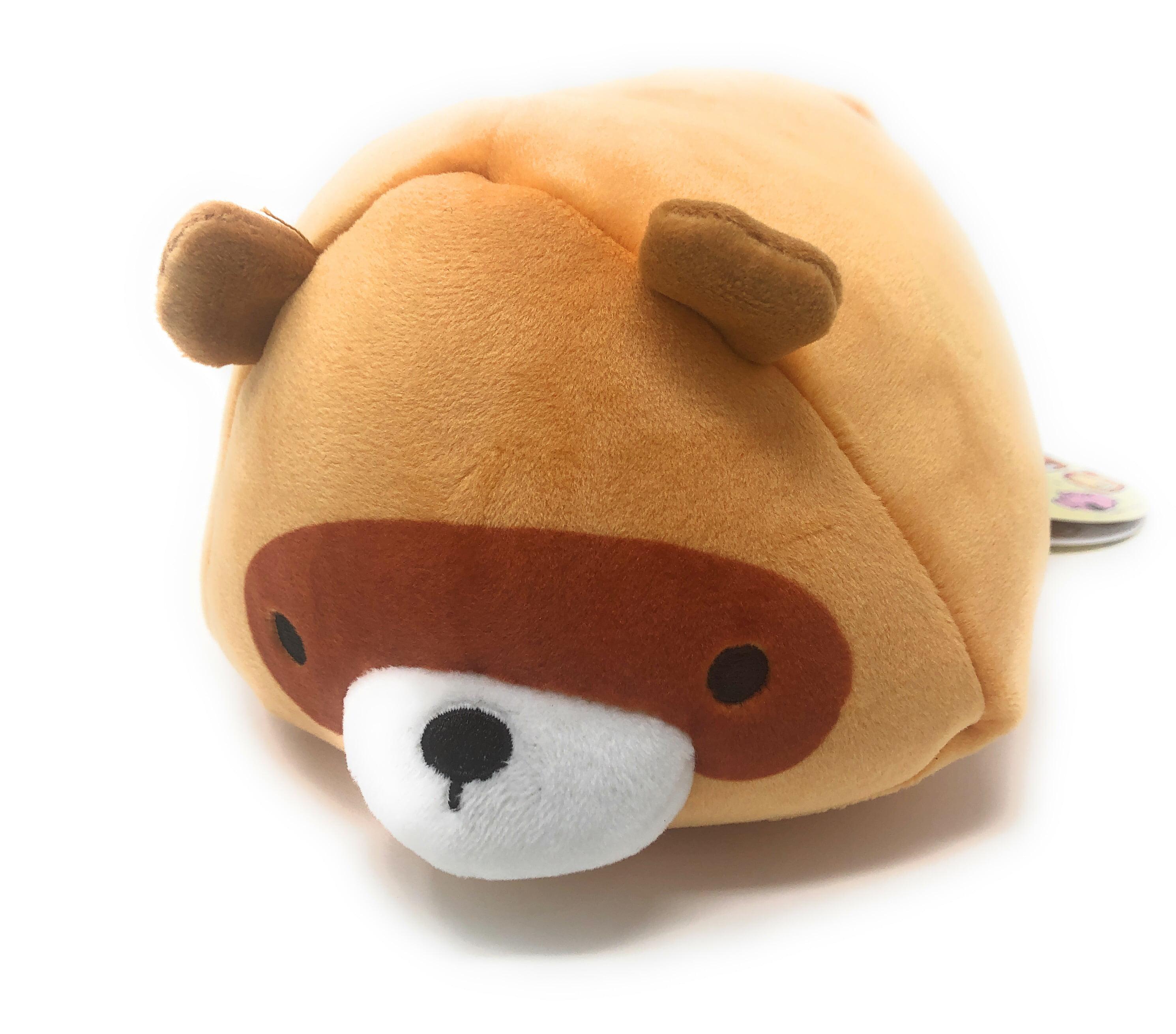 """Shinjidai Neko No Kazoku Keychain Mini Plush 2 to 3/"""" Brown /& Yellow /& Black."""