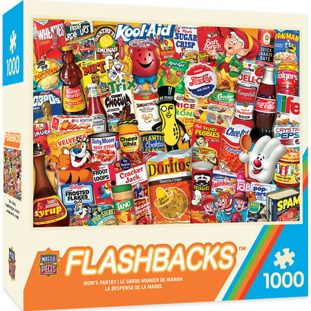 Masterpieces - Flashbacks - Mom's Pantry - 1000 Piece Jigsaw Puzzle