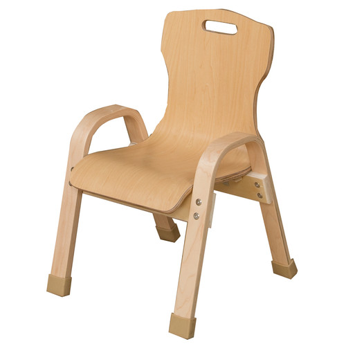 Wood Designs Stacking 19'' Plywood Classroom Chair