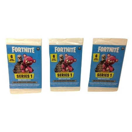 Panini Fortnite 3 Pack 2019 Randomly Selected Trading Cards Series -