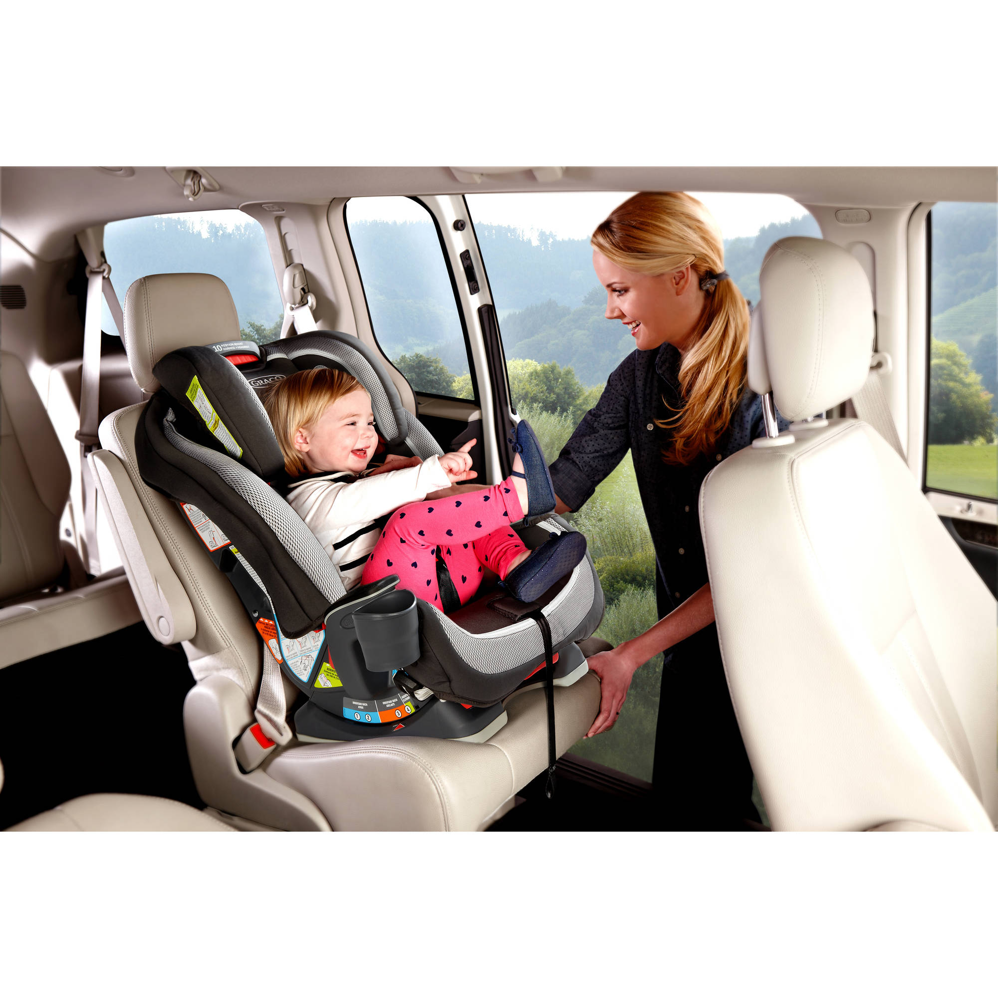 Graco Milestone All In One Convertible Car Seat Kline