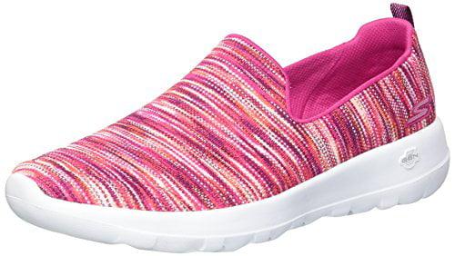 Skechers Performance Women's Go Walk Joy-15615 Sneaker,Pink/Multi,6.5 M US