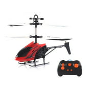 HX726T HX 3.5CH Mini Infrared RC Helicopter Vertiplane With Gyro RTF Christmas Toy Red/ Yellow,Red color
