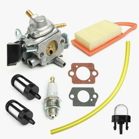 Carburetor Carb Fuel Filter Kit For Zama Stihl BR500 BR550 BR600 Backpack Blower - image 12 of 12