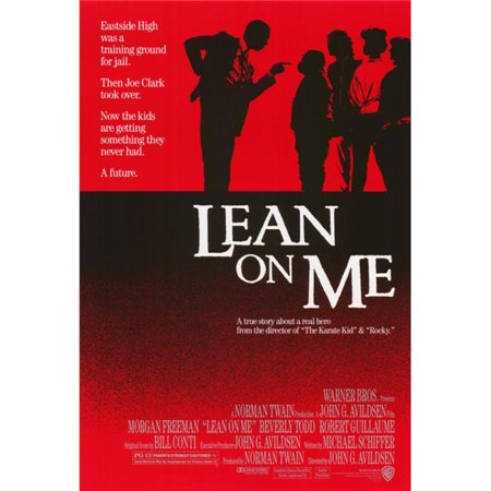 Pop Culture Graphics MOVCH7318 Lean On Me Movie Poster Print, 27 x 40 - image 1 de 1