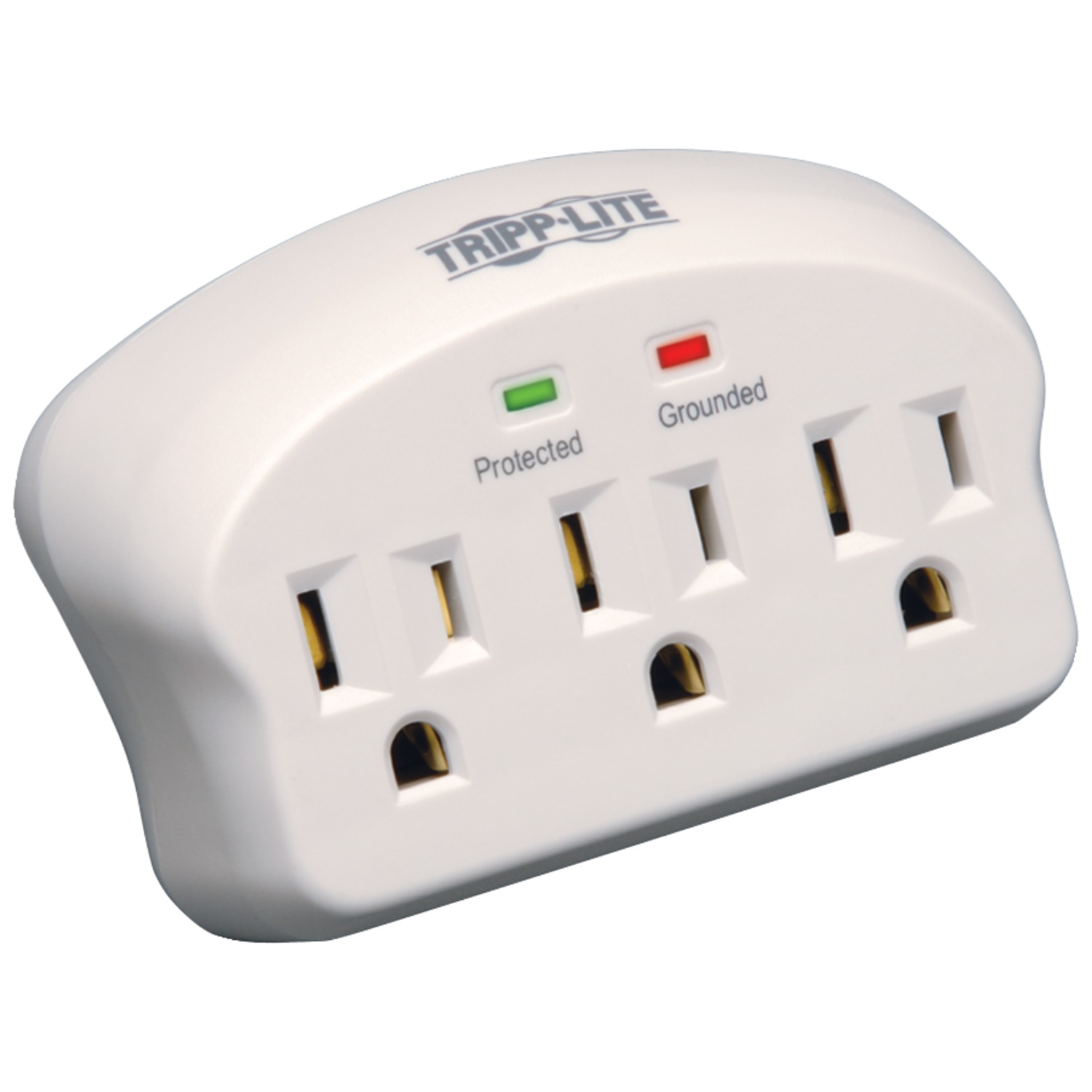 2 Pack Tripp Lite SK3-0 Direct Plug-In 3-Outlet Surge Protector