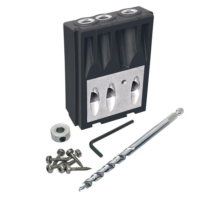 Kreg KJMICRODGB Jig Micro Drill Guide System (Includes Micro Bit and Depth Collar)