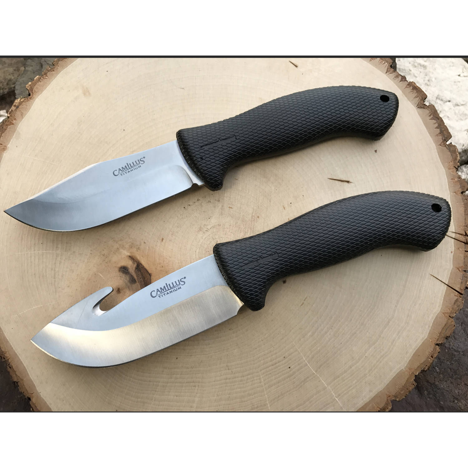 Camillus 2-Piece Game Combo Knife Set, #19350