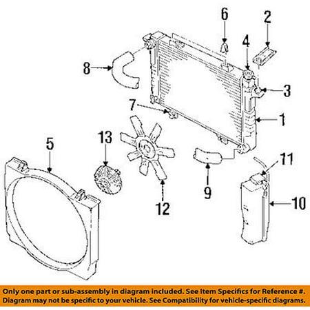 Dodge CHRYSLER OEM 94-02 Ram 2500 5.9L-L6 Radiator-Fan Shroud 52028003AB