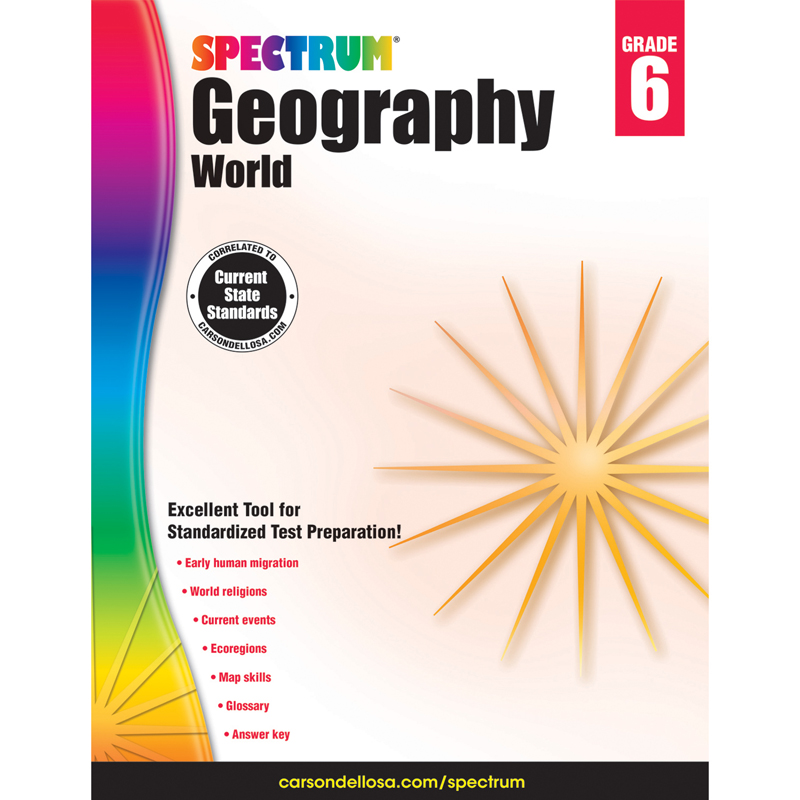Spectrum Geography World Gr 6 - image 1 of 1