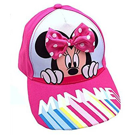 Baseball Cap - Disney - Minnie Mouse 3D Bow - Disney Woody Hat