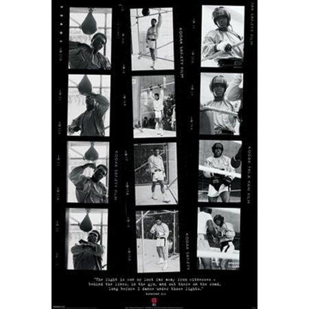 Muhammad Ali Film Strips Poster Print (24 x 36)
