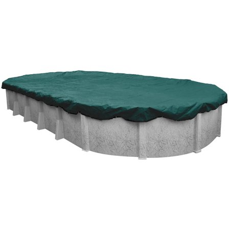 15-Year Extra Heavy-Duty Plus Oval Winter Pool Cover ()