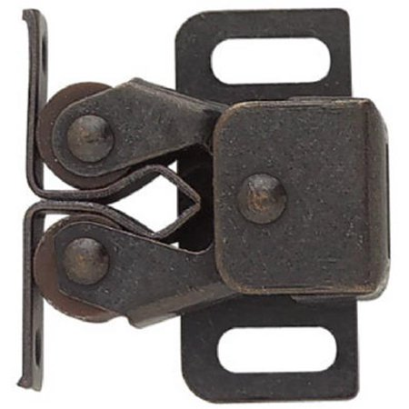 C08820V-STB-P2 1.25 in. Statuary Bronze, Double Roller Catch With Spear - Pack Of 12 - image 1 de 1