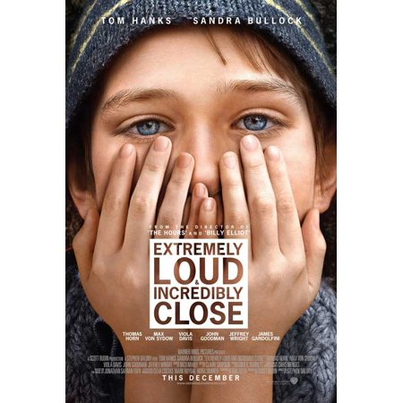 Extremely Loud and Incredibly Close (2011) 11x17 Movie Poster