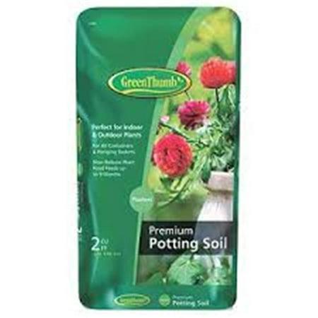 SCOTTS GROWING MEDIA Premium Potting Soil, 2-Cu. Ft.