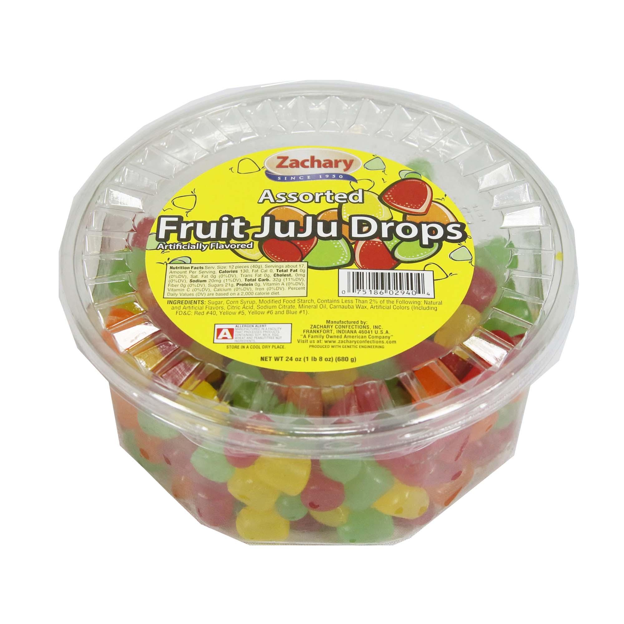 Zachary 24oz. Assorted Fruit JuJu's