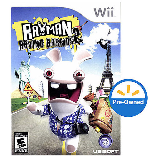 Rayman Raving Rabbids 2 (Wii) - Pre-Owned