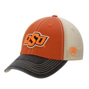 Oklahoma State Cowboys Top of the World Offroad Trucker Adjustable Hat - Black - OSFA