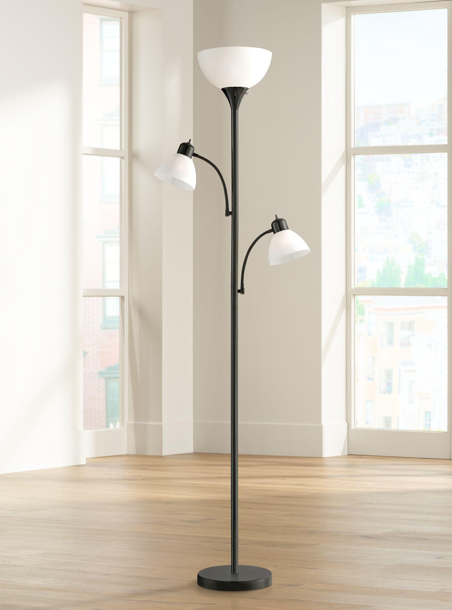 360 lighting modern torchiere floor lamp 3light tree