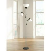 360 lighting bingham black tree torchiere 3-light floor lamp