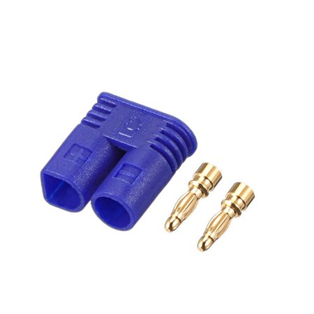 2mm Bullet Connector Gold Plated Banana Plugs Device End (Male) (Banana Ends)