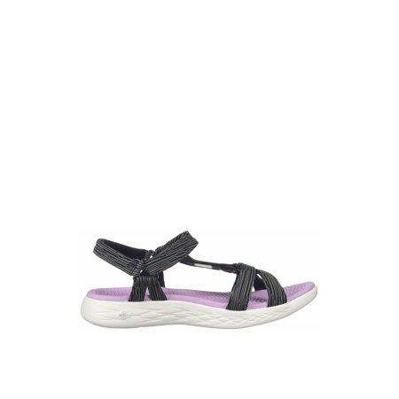 Skechers On the Go 600 - Artiste Women's Casual Sport Sandals 15319 (Skecher Go Walk Sandals For Women)