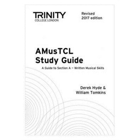 Trinity College London AMusTCL Study Guide (Revised 2017 edition) (Paperback) - Halloween Central London 2017