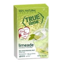 True Lime LIMEADE (Pack of 4) 10ct each box. True Lemon | True Citrus