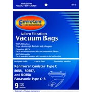18 Kenmore 50558, 5055, 50557 Micro Filtration Canister Vacuum Bags