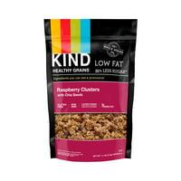 KIND Gluten Free Breakfast Granola, Raspberry Clusters w. Chia Seeds,11 oz