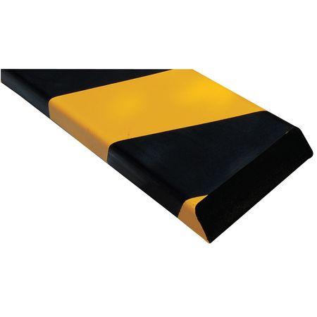 "Corner Guard, Black Yellow, 13 16""W X 36""H Vestil FEG-B by Vestil"