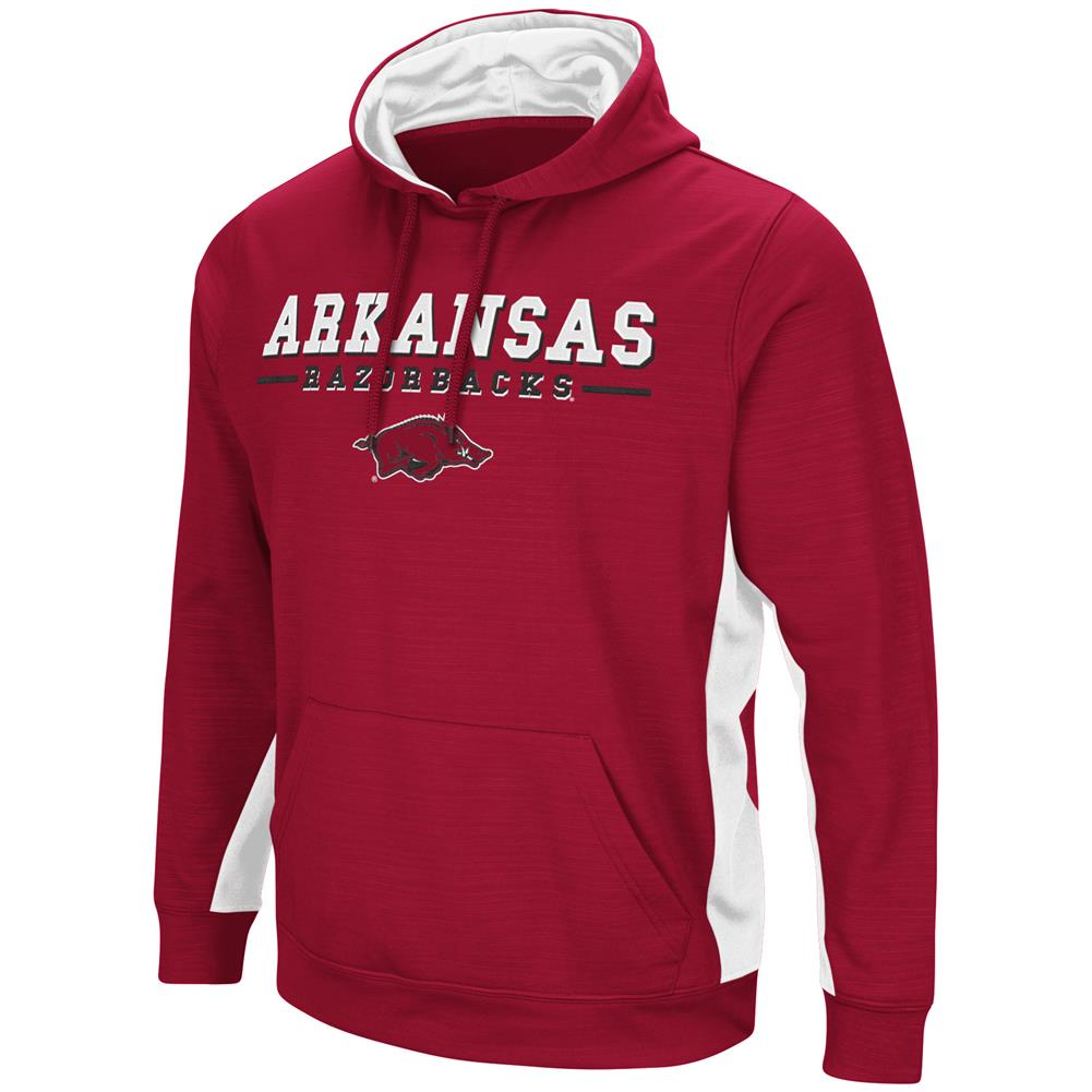 Arkansas Razorback Hoodie Performance Fleece Pullover Jacket